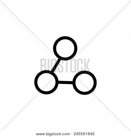 Share Vector Icon On White Background. Share Modern Icon For Graphic And Web Design. Share Icon Sign
