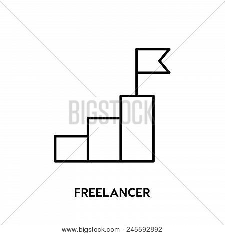 Success Vector Icon Vector Icon On White Background. Success Vector Icon Modern Icon For Graphic And