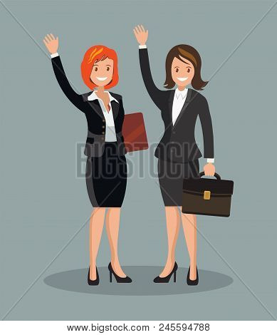 Business Women Vector Photo Free Trial Bigstock