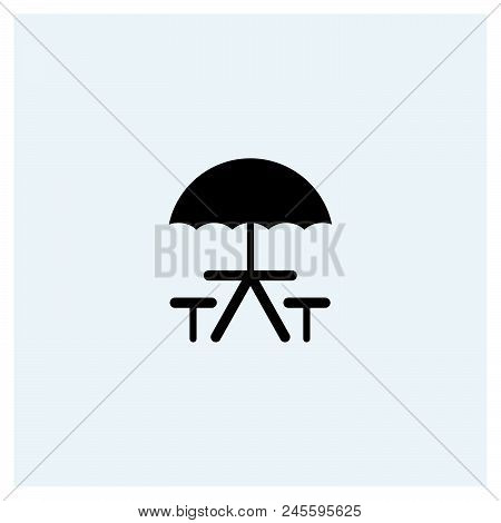 Camping Icon Vector Icon On White Background. Camping Icon Modern Icon For Graphic And Web Design. C