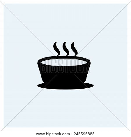 Soup Icon, Meal Icon Vector Icon On White Background. Soup Icon, Meal Icon Modern Icon For Graphic A