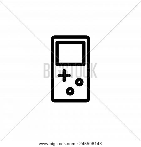 Game Vector Icon On White Background. Game Modern Icon For Graphic And Web Design. Game Icon Sign Fo
