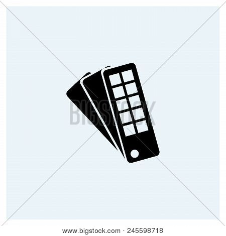 Color Guide Icon Vector Icon On White Background. Color Guide Icon Modern Icon For Graphic And Web D