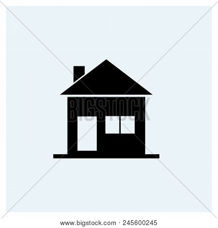 Home Icon Vector Icon On White Background. Home Icon Modern Icon For Graphic And Web Design. Home Ic