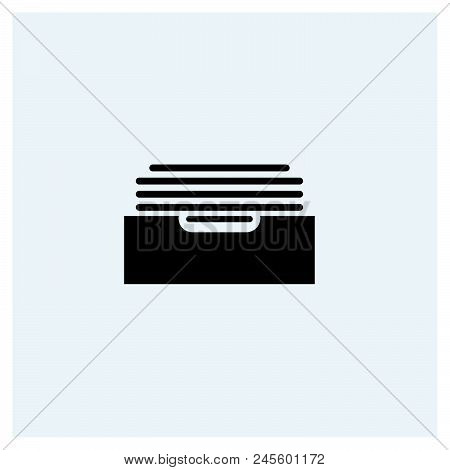 Archive Icon Vector Icon On White Background. Archive Icon Modern Icon For Graphic And Web Design. A