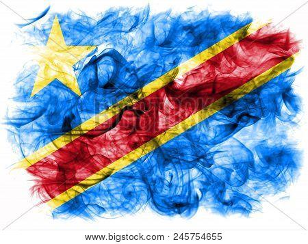 Democratic Republic Of The Congo Smoke Flag