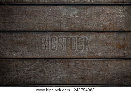 Old Wood Background From Old Home, Corrosion Of Base Or Ceiling In Interior Of Home, Corrosion Of Wo