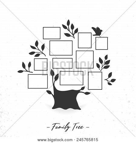 Family Tree Photo Vector Photo Free Trial Bigstock