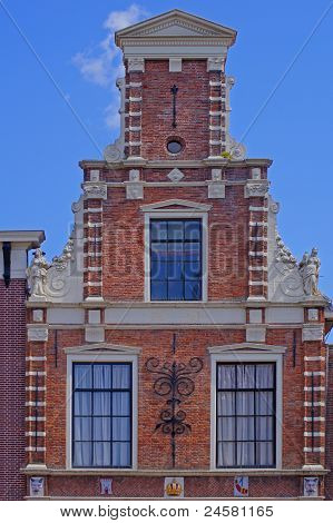 Historic house in Alkmaar in the Netherlands
