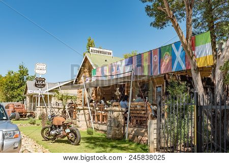 Ladybrand, South Africa - March 12, 2018: The Luca Coffee Cafe In Ladybrand, A Town In The Eastern F