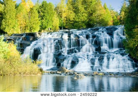 Bond Falls, Michigan'S Upper Peninsula