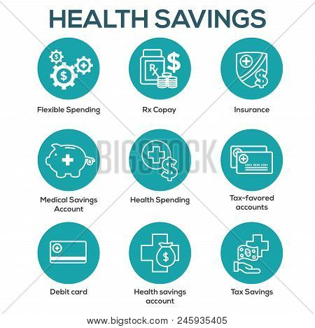 Medical Tax Savings W Health Savings Account Or Flexible Spending Account - Hsa, Fsa, Tax-sheltered