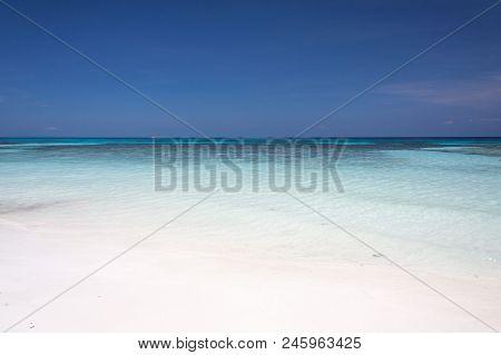White Sand Beach At Similan Island , Thailand