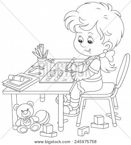 school homework coloring pages | Exercise Book Images, Illustrations & Vectors (Free ...