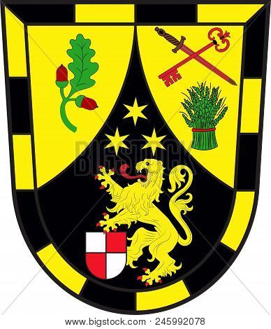 Coat Of Arms Of Lambsheim-hessheim Is A Collective Municipality In The District Rhein-pfalz-kreis, I