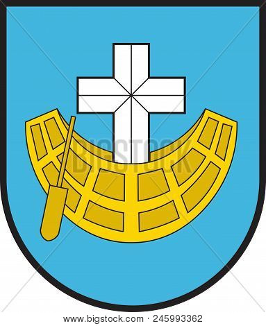 Coat Of Arms Of Schifferstadt Is A Town In The Rhein-pfalz-kreis, In Rhineland-palatinate, Germany.