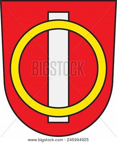 Coat Of Arms Of Offenbach An Der Queich Is A Municipality In The Suedliche Weinstrasse District, In