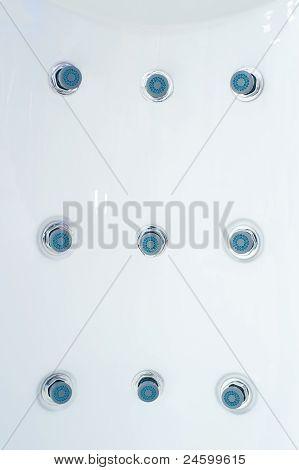 Whirlpool Jets On Shower Panel