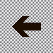 Undo Arrow Icon, Redo Arrow Icon. Direction arrow sign. Motion icon. Arrow button. EPS poster