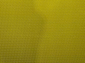 Close-up from a metalic object with little dots. Colour: Yellow/Gold poster