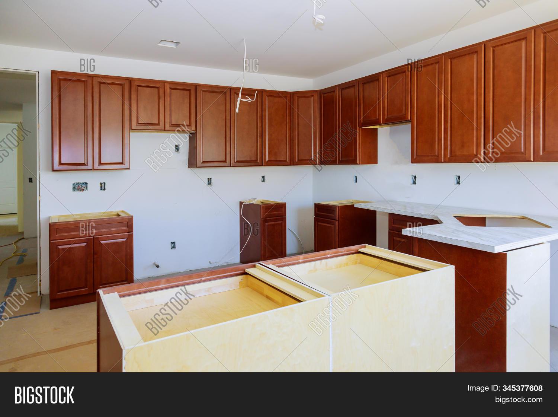 Custom Kitchen Various Image Photo Free Trial Bigstock