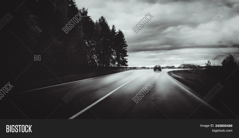 Moody Black White Image Photo Free Trial Bigstock