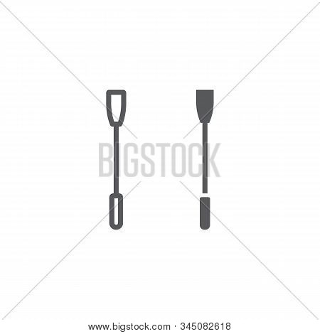 Horse Whip Line And Glyph Icon, Sex Toy And Adult, Sex Whip Sign, Vector Graphics, A Linear Pattern
