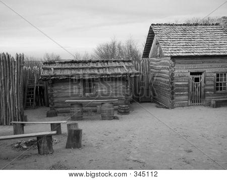 Interior Of Frontier Fort