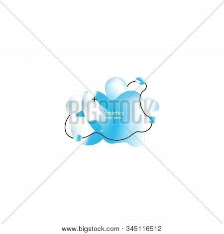 Probiotics Bacteria And Heart Vector Design. Concept Of Design With Lactobacillus Probiotic Bacteria