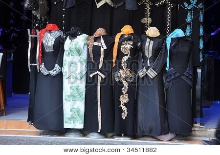 Abaya Market In Arabic City