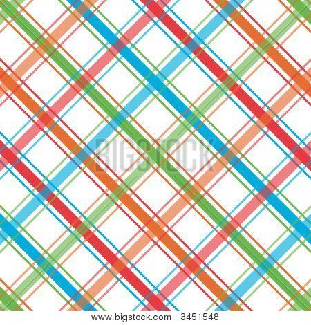 Bright Plaid Pattern