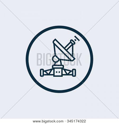 Satellite Dish Icon Isolated On White Background. Satellite Dish Icon Simple Sign. Satellite Dish Ic