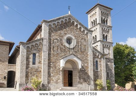 Church of St. Savior in Castellina in Chianti, Tuscany