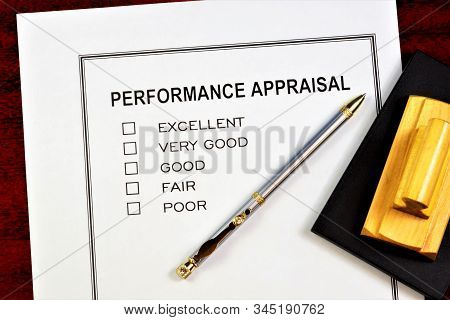 Performance Appraisal-determination Of The Employee's Compliance With The Position Held, Confirmatio