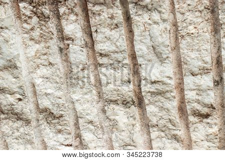 Detail Marking Of Cutting Raw Marble Background