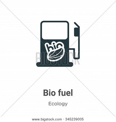 Bio fuel icon isolated on white background from ecology collection. Bio fuel icon trendy and modern