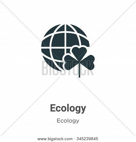 Ecology icon isolated on white background from ecology collection. Ecology icon trendy and modern Ec