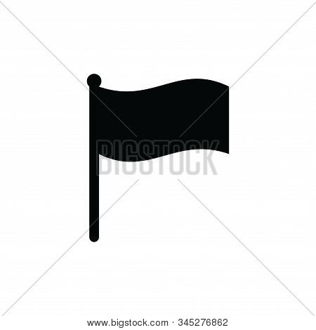 Flag Icon Vector. Flag Icon Isolated On White Background. Flag Icon In Trendy Design Style. Flag Vec