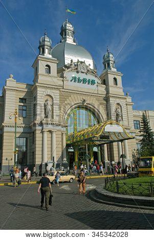 Lviv (lvov) - Building Of Central Railway Station