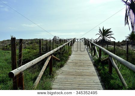 Gola Del Segura On The Segura River Of Guardamar Del Segura, Alicante. Spain. Europe. September 23,