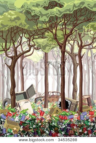 Junk forest