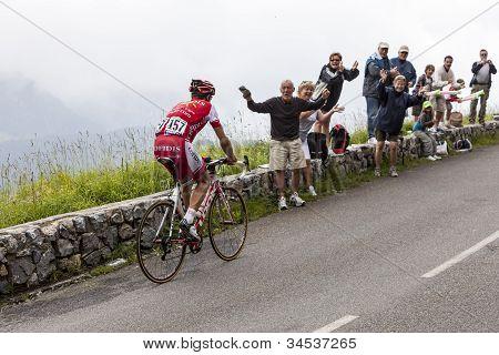 The Cyclist David Moncutie