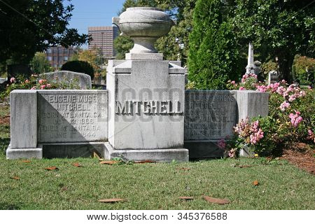 Atlanta, Georgia - October 21, 2006: Margaret Mitchell Was An American Novelist. She Only Wrote One