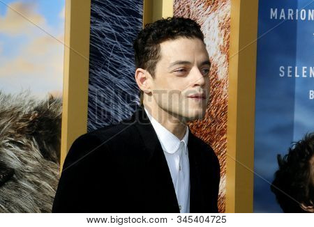 Rami Malek at the Los Angeles premiere of 'Dolittle' held at the Regency Village Theatre in Westwood, USA on January 11, 2020.