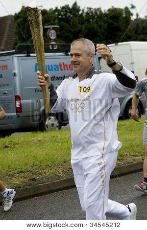La antorcha olímpica