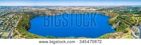 The Blue Lake Is A Crater Lake Located In A Dormant Volcanic Maar Of Mount Gambier In South Australi