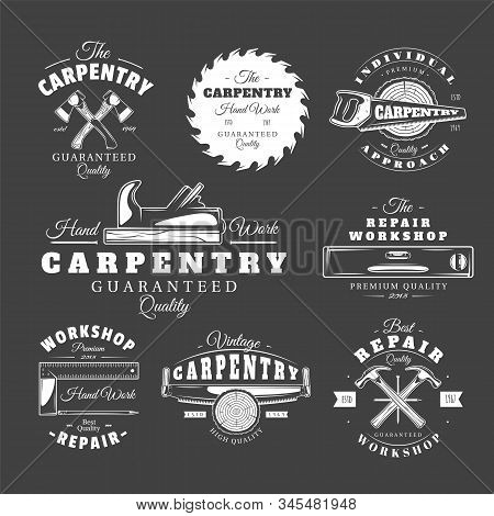 Vintage Carpentry Labels