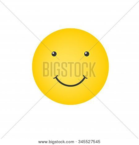 Smiley Face. Yellow Smile Isolated. World Smile Day. Vector Illustration. Smiley Vector. Smiley Icon