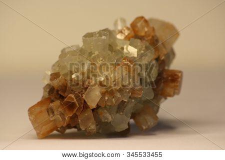 Quartz Stone Druse Shiny Flint Nature Macro