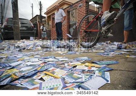 Paper Thrown On The Street